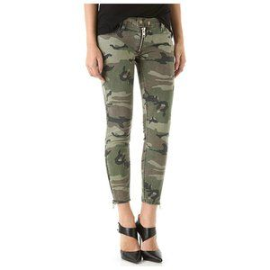 TEXTILE Elizabeth and James Womens Debbie Jean in Coated Olive Camo